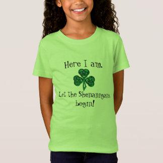 ¡El día de St Patrick del niño dejó los Playera