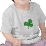 El día de St Patrick del trébol del vintage Camiseta