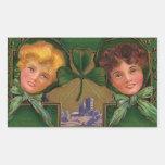 El día de St Patrick del vintage Rectangular Altavoces