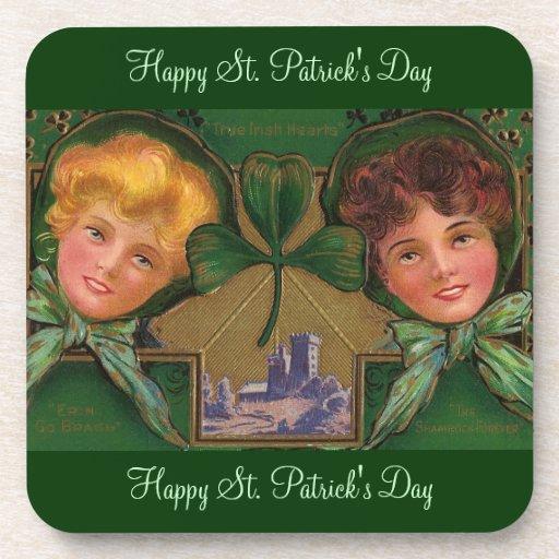 El día de St Patrick del vintage Posavaso