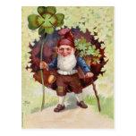 El día de St Patrick del vintage Postales