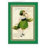 El día de St Patrick del vintage Tarjeta