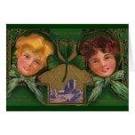 El día de St Patrick del vintage Tarjetas