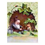 El día de St Patrick del vintage Tarjetas Postales