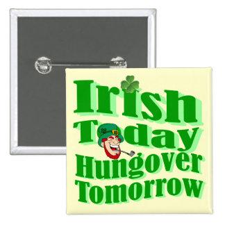 El día de St Patrick divertido del irlandés Pin