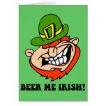 El día de St Patrick divertido Felicitaciones