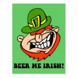 El día de St Patrick divertido Postal