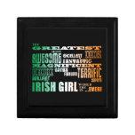 El día de St Patrick: El chica irlandés más grande Cajas De Joyas