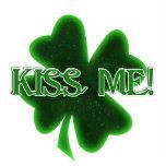 ¡El día de St Patrick feliz - béseme! Esculturas Fotograficas