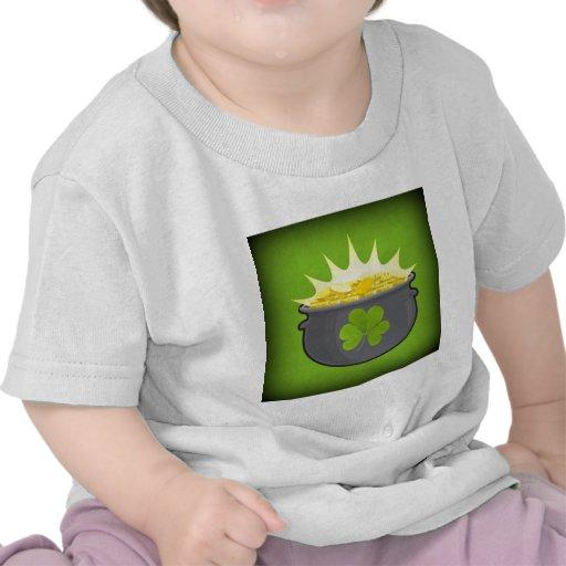 ¡El día de St Patrick feliz! Camiseta