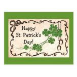 ¡El día de St Patrick feliz del vintage! Postal