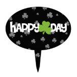 El día de St Patrick feliz Figuras Para Tartas