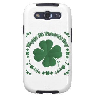 El día de St Patrick feliz Galaxy SIII Protector