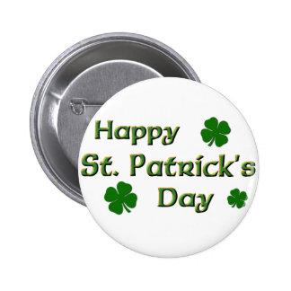 El día de St Patrick feliz Pin