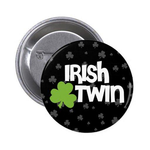 El día de St Patrick feliz Pin Redondo 5 Cm