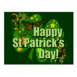 ¡El día de St Patrick feliz! Postal