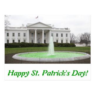 El día de St Patrick feliz - postal de WH
