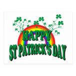 El día de St Patrick feliz Postales