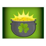 ¡El día de St Patrick feliz! Postales