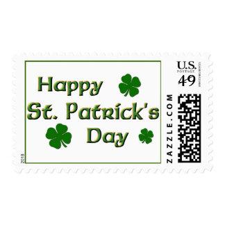 El día de St Patrick feliz Envio