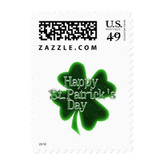 El día de St Patrick feliz Franqueo