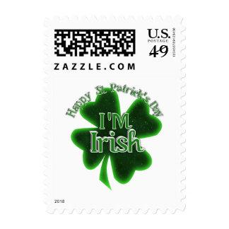 ¡El día de St Patrick feliz - soy irlandés! Envio