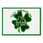 ¡El día de St Patrick feliz - soy irlandés! Tarjetas