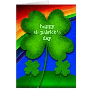 El día de St Patrick feliz Tarjeta De Felicitación