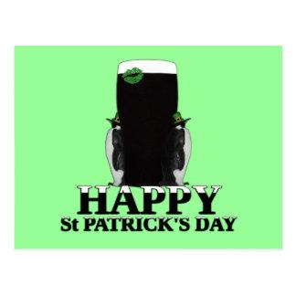 El día de St Patrick feliz Tarjetas Postales