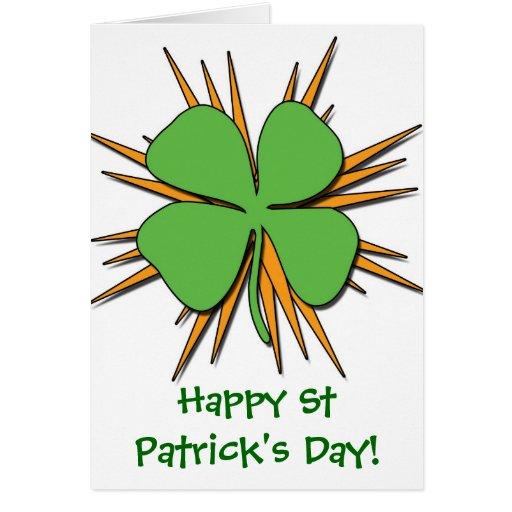 ¡El día de St Patrick feliz! Tarjetas