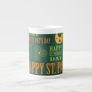El día de St Patrick feliz Taza De Porcelana
