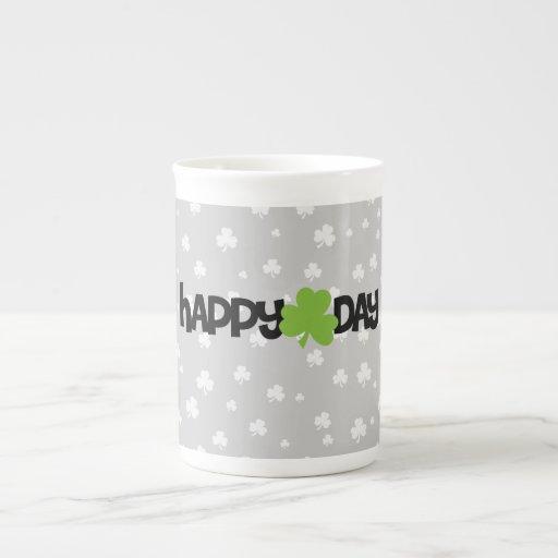 El día de St Patrick feliz Tazas De Porcelana