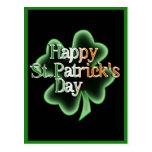 El día de St Patrick feliz (texto irlandés del col