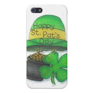 El día de St Patrick iPhone 5 Coberturas