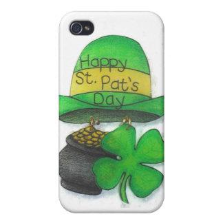 El día de St Patrick iPhone 4 Coberturas