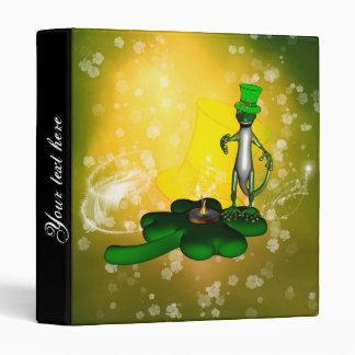 El día de St Patrick, gecko divertido, fresco