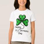 El día de St Patrick gótico del trébol Remeras