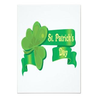 """El día de St Patrick Invitación 5"""" X 7"""""""