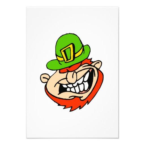El día de St Patrick Invitaciones Personalizada