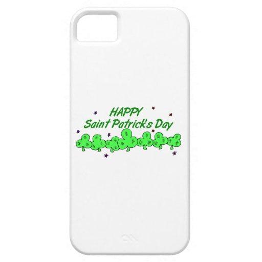 El día de St Patrick iPhone 5 Carcasas