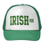 El día de St Patrick Irlandés-ish, divertido Gorras