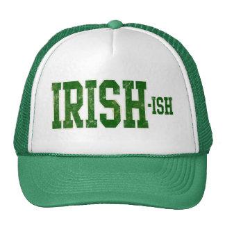 El día de St Patrick Irlandés-ish divertido Gorras