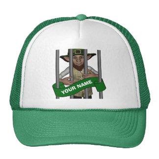el día de St Patrick lindo personalizado del lepre Gorra