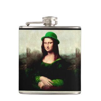 El día de St Patrick - Mona Lisa afortunada