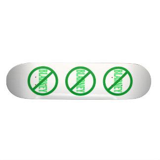 El día de St Patrick ninguna lisonja permitida Tablas De Patinar