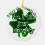 El día de St Patrick - no irlandés, apenas travies Ornamentos Para Reyes Magos
