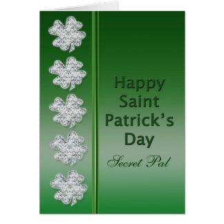 El día de St Patrick - PAL secreto - tarjeta