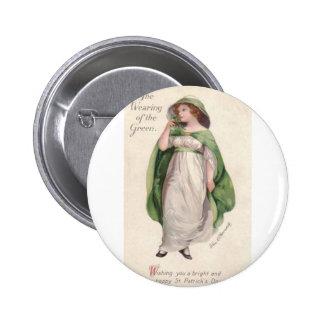 El día de St Patrick Pins