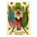 El día de St Patrick Postal