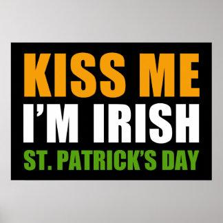 El día de St Patrick Póster